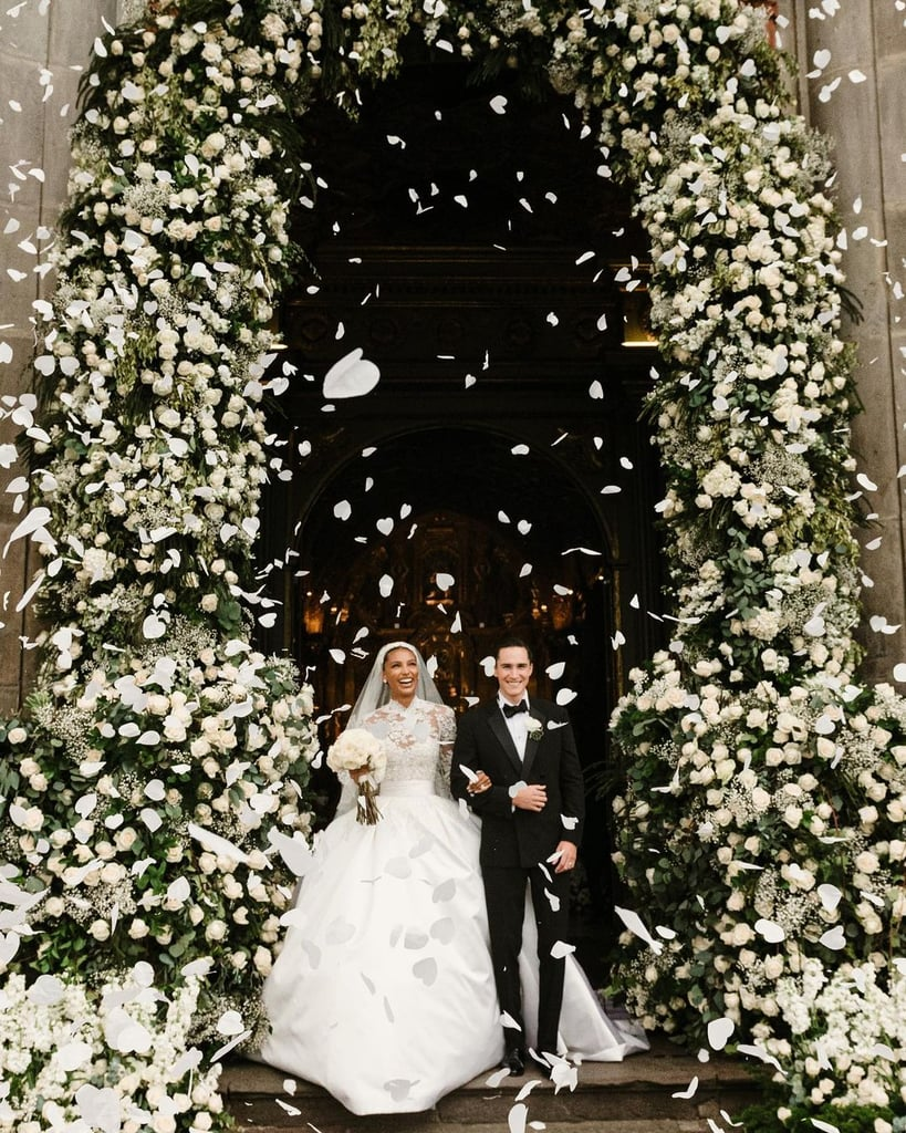 Jasmine Tookes Got Married in a Zuhair Murad Wedding Dress