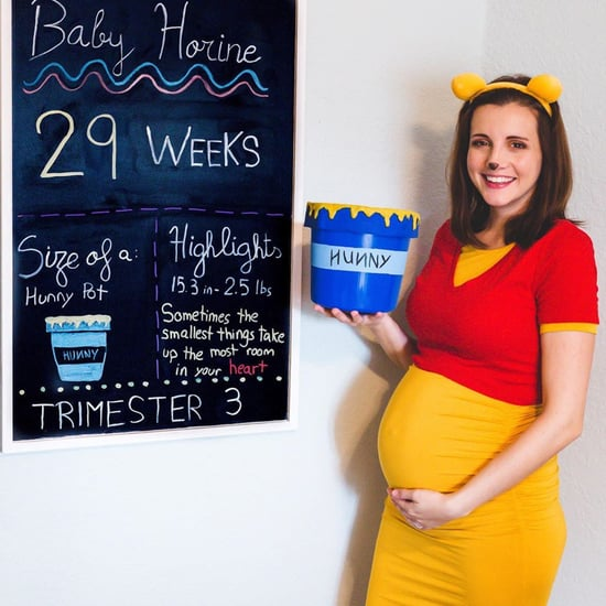Disney and Harry Potter Weekly Pregnancy Update Photos
