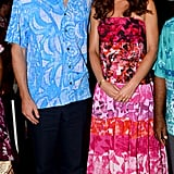 Will and Kate looked like a young couple on holiday during their visit to the Solomon Islands.