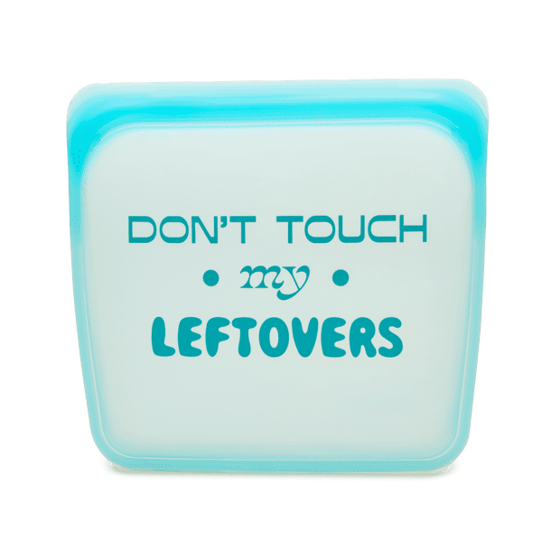 """""""Don't Touch My Leftovers"""" Reusable Bag"""