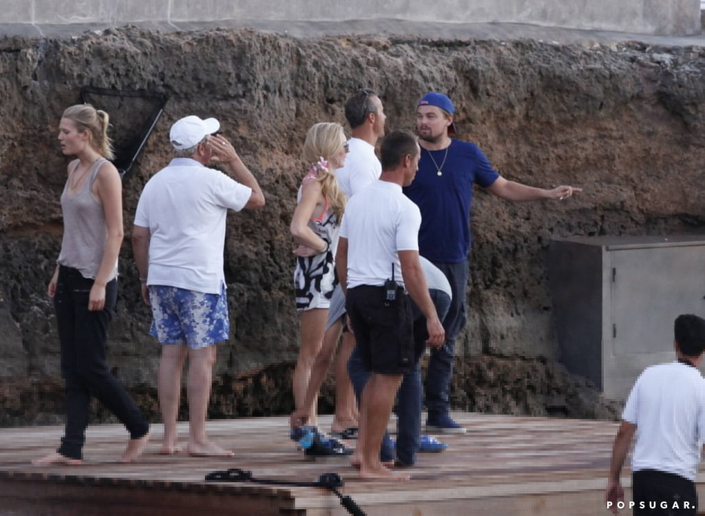Leonardo DiCaprio and Toni Garrn Kissing In Spain | Pictures