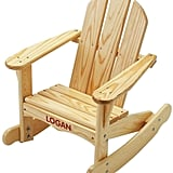 Personalized Outdoor Rocking Chair