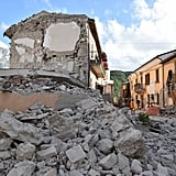 Italy Earthquake Photos 2016