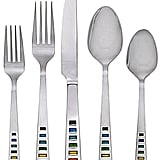 Rainbow 20-Piece Flatware Set ($90)