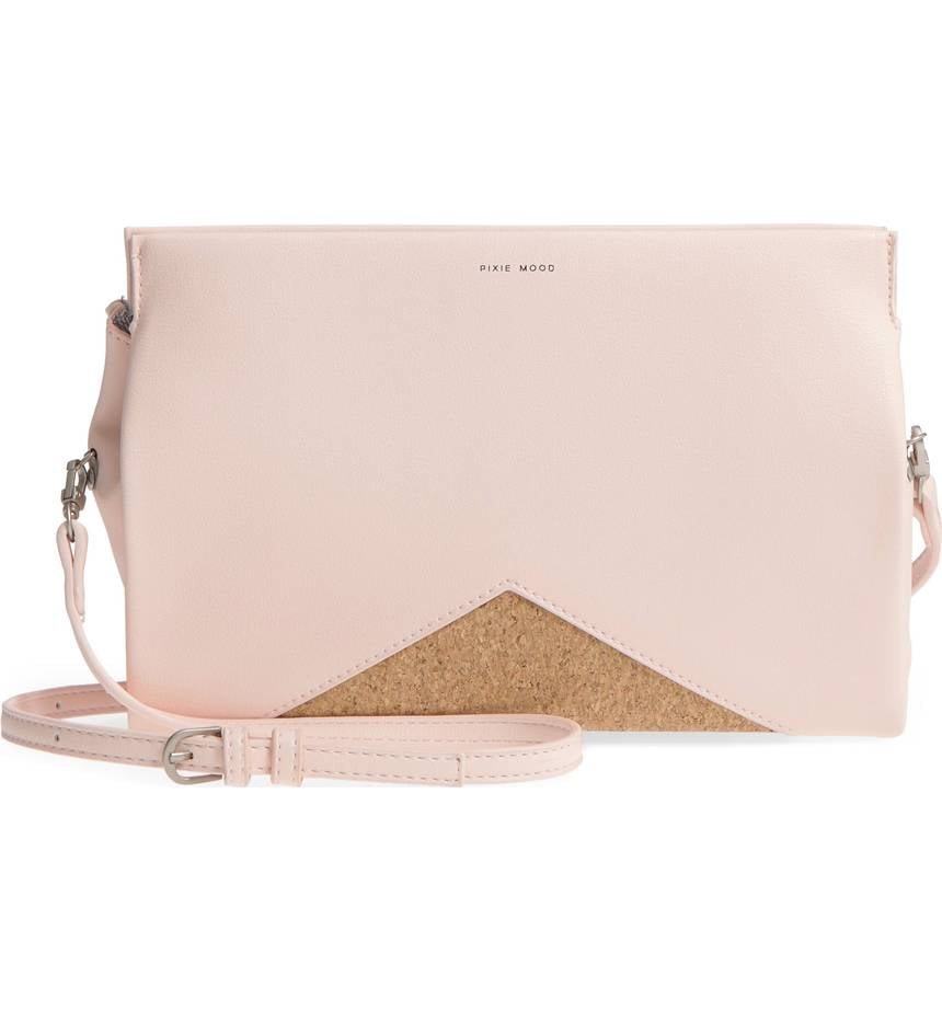 3c8bae2c1d28 Pixie Mood Margaret Faux Leather Crossbody Clutch