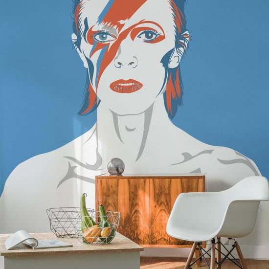 Prince and David Bowie Tribute Wallpaper Murals