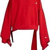 Vetements X Champion oversized cotton-blend sweatshirt ($880)