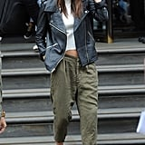 Cargo Pants and a Leather Jacket