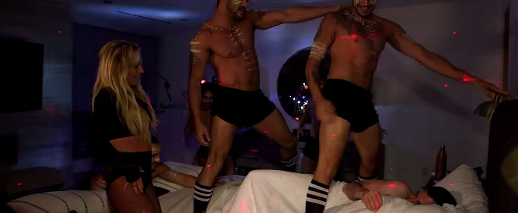 Britney Spears Pranks Jimmy Kimmel by Giving Him a Private Show in the Middle of the Night