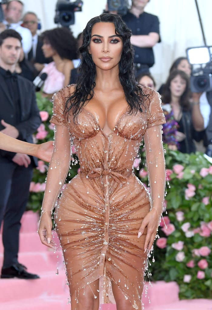 Kim Kardashian at the 2019 Met Gala