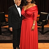 Oprah hosted an evening to honor Ralph Lauren.