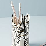 Anthropologie Cityscape Pencil Cup