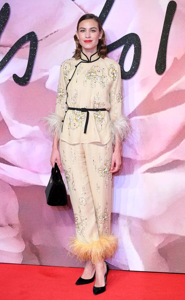 Alexa Chung Wearing Prada