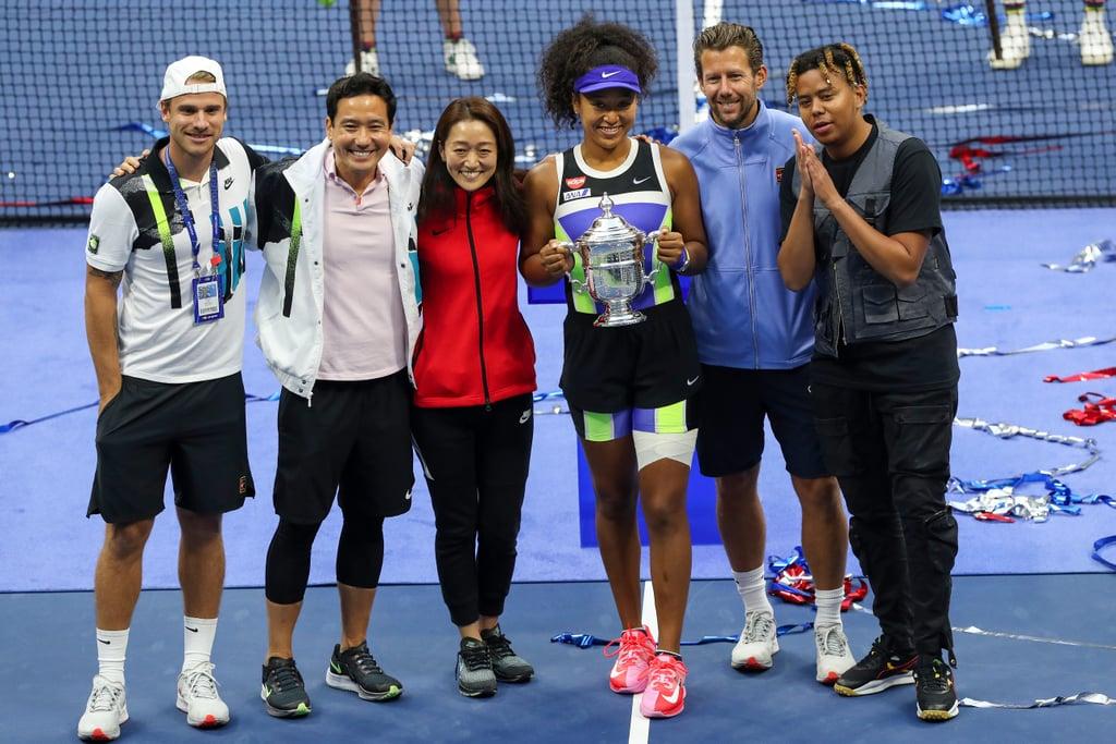 September 2020: Cordae Accompanies Naomi to the 2020 US Open