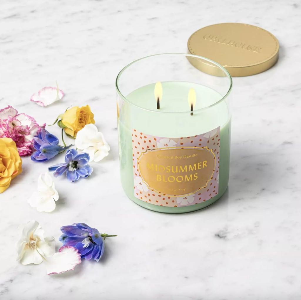 Midsummer Blooms Lidded Jar Candle