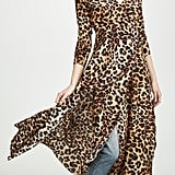 We Are Leone Leopard Wrap Dress