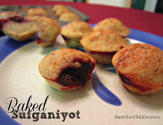 Barr & Table Baked Sufganiyot Jelly Jam Donuts Hannuka Chanukah