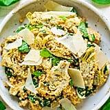Spinach and Artichoke Quinoa Salad
