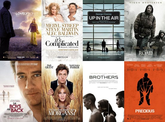 Movies Films Released in UK Cinemas in January 2010 Including Precious, The Lovely Bones