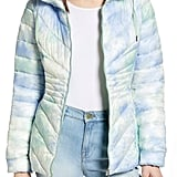 Bernardo Packable Hooded EcoPlume Fill Puffer Coat
