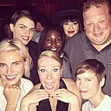 """""""With the fam!"""" Ruby said alongside this cute Instagram picture."""