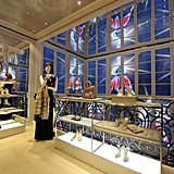 It was designed by Peter Marino, who also designed the Paris store.