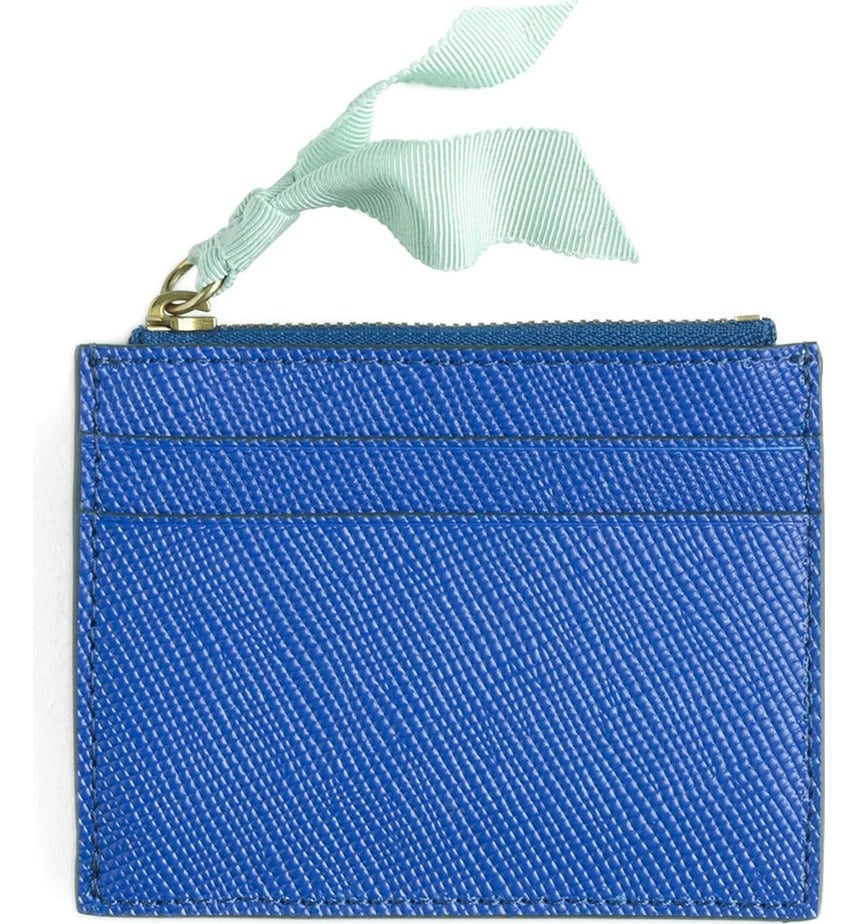 J.Crew Small Leather Zip Wallet ($23)