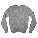 """Lingua Franca """"The Future Is Female"""" Sweater"""