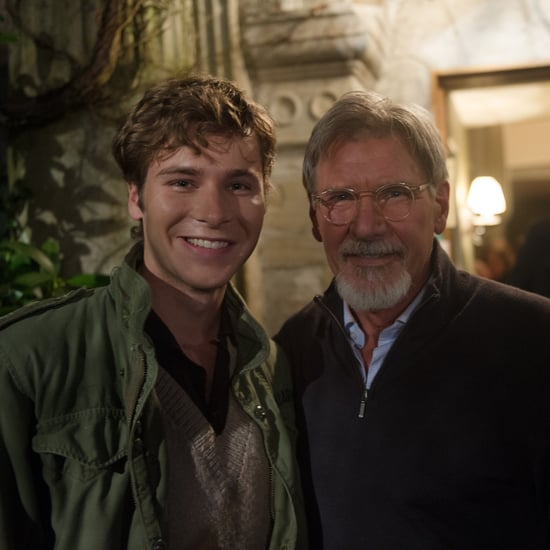 Harrison Ford Talking About Anthony Ingruber