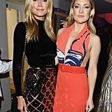 Heidi Klum and Kate Hudson