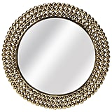 Madeline: Butler Tiny Bubbles Antique Gold Mirror