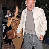 Salma Hayek and Francois-Henri Pinault stepped out to celebrate Halle Berry's 46th birthday.