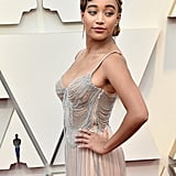Amandla Stenberg at the 2019 Oscars