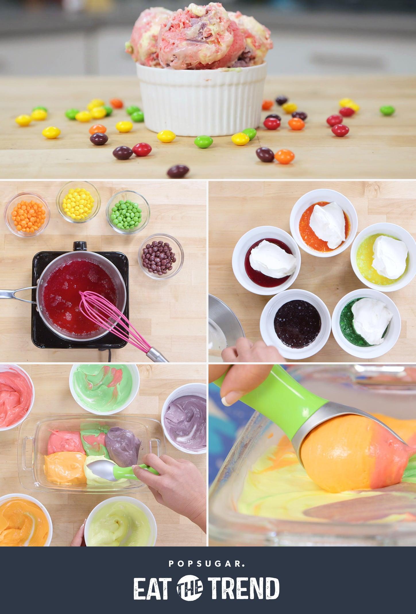 Skittles ice cream popsugar food - Refreshing dishes yogurt try summer ...