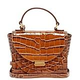 Wandler Luna Mini Crocodile-Effect Leather Cross-Body Bag