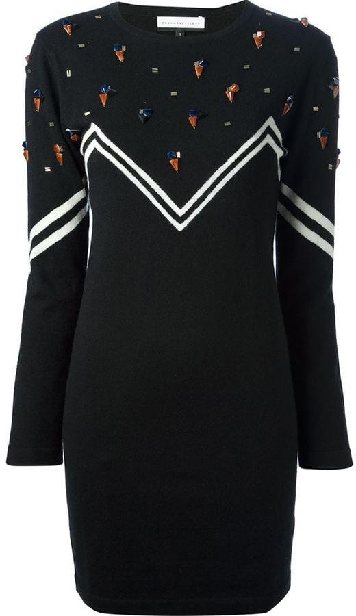 The Statement Print Sweater Dress