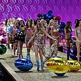 The 2010 Victoria's Secret Fashion Show Unveiled — Karolina Kurkova, Jessica Stam, and Lily Donaldson Work It