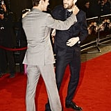 With Jack Whitehall