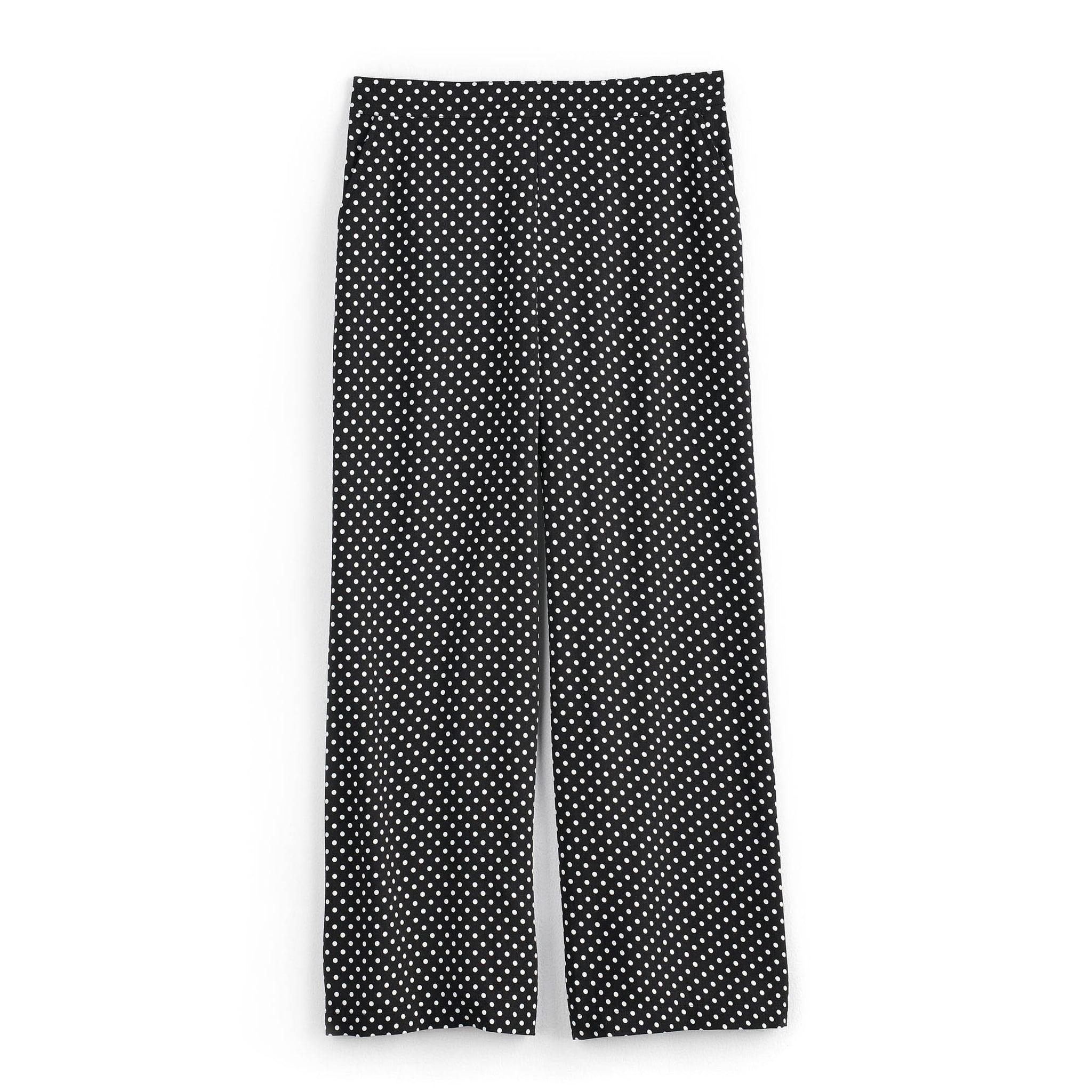 5d1ac55632c5 Women's POPSUGAR High-Waisted Wide-Leg Pants | 46 Polka-Dot Outfits ...