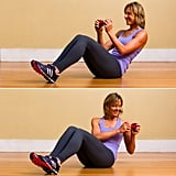 Obliques: Seated Russian Twist