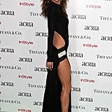 Alessandra Ambrosio Showed a Lot of Leg in Alexandre Vauthier