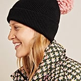 Pick-A-Pom Ribbed Beanie Base