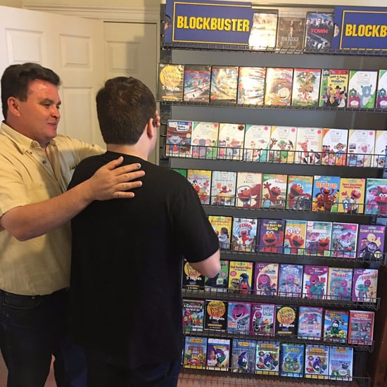 Boy With Autism Surprised With Personal Blockbuster