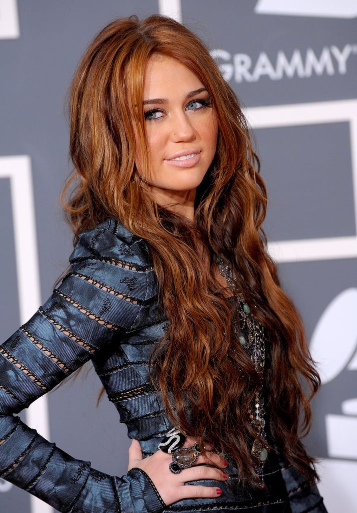 Miley Cyrus Long Hair 2010