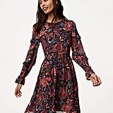 LOFT Hydrangea Bouquet Dress