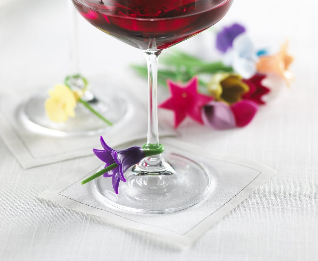 Floral Wine Charms ($8 for set of 12, originally $113)