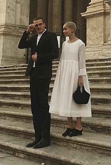 Zoë Kravitz's White Dress
