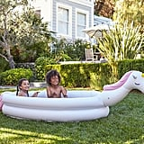 Pottery Barn Kids Unicorn Inflatable Pool