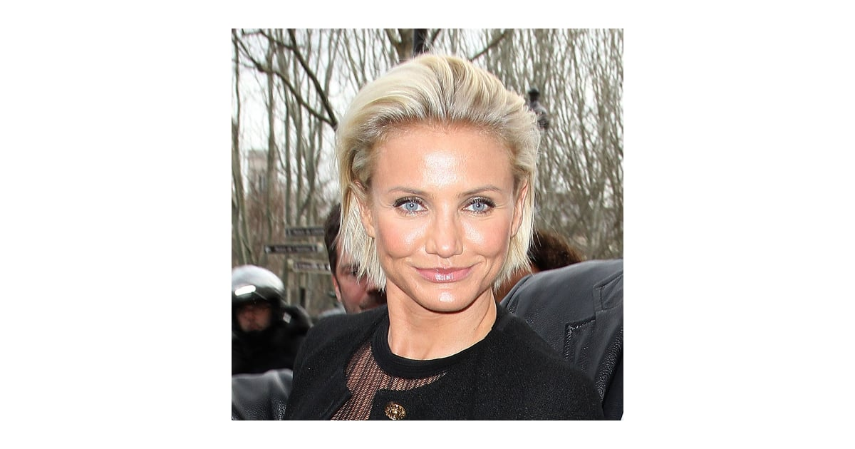 Cameron diaz new short hairstyles popsugar beauty urmus Image collections