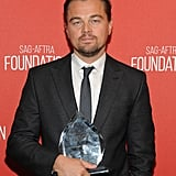 Leonardo DiCaprio Screen Actors Guild Red Carpet Pictures